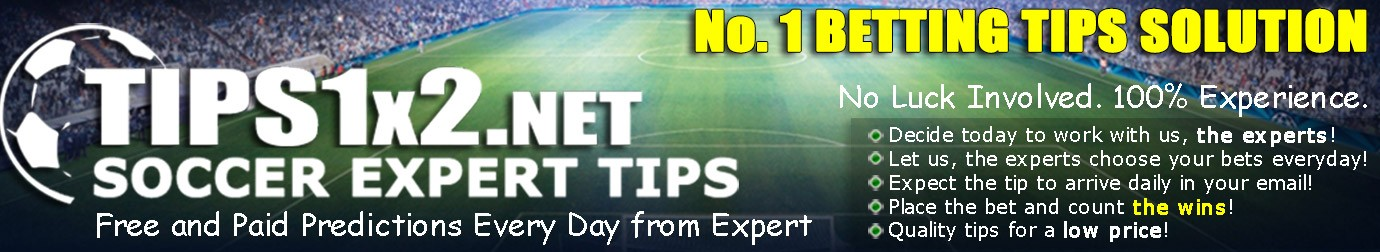 Tips1x2 – Soccer Betting Tips from Top World Tipsters